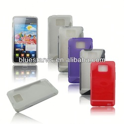 Hight Quality FOR samsung galaxy s2 case Shell s line tpu case