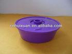 1500ml plastic Round food Tortillas container