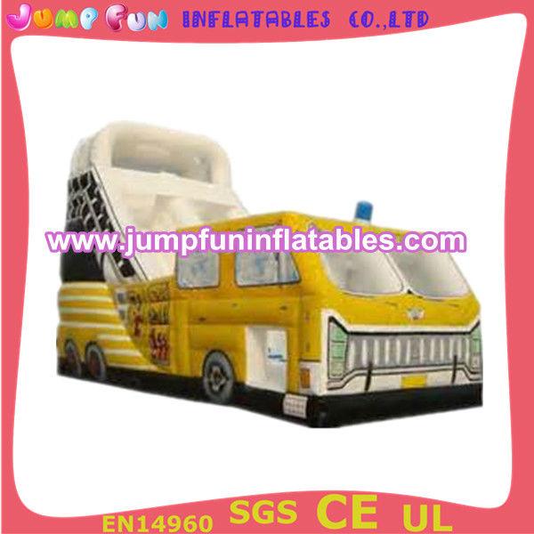 inflatable fire truck slide inflatable car slide inflatable kid slide