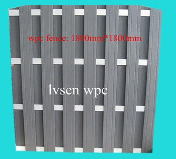 180x180cm wpc fence,aluminium fence,waterproof fence
