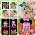 cuffiette neonato uncinetto animale beanie cappello gufi bambino per la vendita