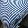 chinese textiles fabric cotton blue and white striped