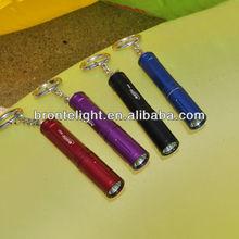Bronte RA01 Cree XP-G R5 80LM 3-Mode LED White Light Flashlight (1 x AAA) mini torchlight with key chain