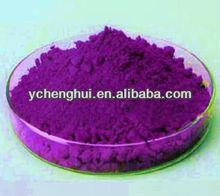 Pigment violet 23 for rubber