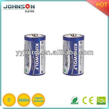 C Alkaline Battery KINGWOLF LR14 am2 china in