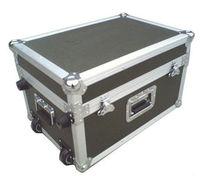 Professional strong black hard aluminum transportation case