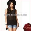 transparente las mujeres blusa de gasa 2013 diseños