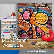 Brand-new Wallpaper: Inkjet Eco-solvent Design Wallpaper for Inkjet Printer with Perfect Printing Effect, Wallpaper Manufacturer
