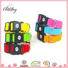 2013 good quality wholesale plain nylon dog collars for sale