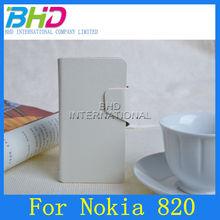 for nokia lumia 820 leather case
