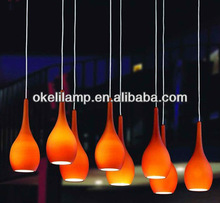 top ranking colored glass chandeliers, ball shape colored glass chandelier, fancy charming colored glass chandeliers