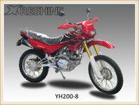 2013 hot selling motorcycle factory dirt bike 200cc