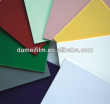 Thick 2-8mm abs double color plastic sheet