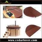 Insulation cedar indoor hot tub cover