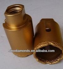 35mm Brazed diamond hole saw/core drill