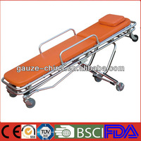 medical equipment stainless steel ambulance stretcher