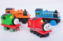 Wooden Thomas Toy Train Set For Children