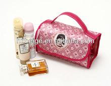 Eco friendly foldable toiletry handbag travel wash bag