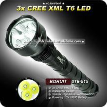 Goldrunhui RH-F0497 3000LM 1*18650 Power Style Dream Trip Flashlight