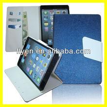 Oracle Bones Retro Folio Leather Case for iPad mini Magnetic Smart Flip Wallet cover cases for Apple iPad mini new Royal Blue