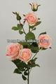 Atacado fábrica de seda pano flores artificiais para venda