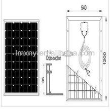 solar panel manufacturers in china,solar modules pv panel 85W Mono crystalline solar PV module