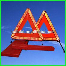 car emergency triangle reflector warning kit
