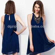 Grecian Embellished Swing Dress