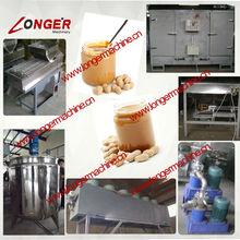 Peanut Butter Product Line|200kg/h Peanut Butter Production Line|Colloid Mill Machine
