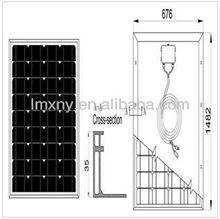 panels solar ---130W Mono crystalline Solar Panel