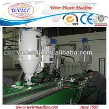 Overlap welding aluminum plastic composite pipe production line