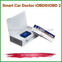 2013 promotion iOBD2 Vehicle car code reader for Android by Wifi(OBD II/EOBD) /bluetooth free shipping