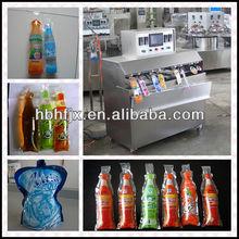 3500bags/hr Lemon ( Lime ) Juice expansion bag tube filling sealing packing machine