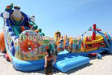 popular inflatable beach slideinflatable toboggan slide