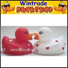 Holiday Valentine Duck Gift