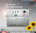 Tracer series10a, 20a, 30a, 40a régulateur solaire photovoltaïque, voiture solaire avec télécommande avec un coût bon marché en chine fournisseur