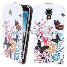 Fashion Leather Flip Cover For Samsung Galaxy S4 Mini i9190