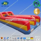 Party inflatable sport games, bungee run, inflatables for adults