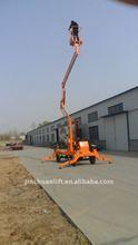 2013 new design boom lift for street light maintenance lifting 10m