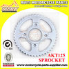 AKT125 Motorcycle Sprocket For South American Market
