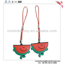Promotional Custom Soft PVC Food Pendant
