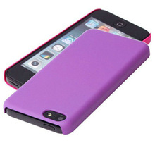 various colors for your choice frosted coat plastic rubberized case for iphone5c