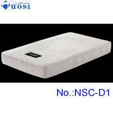 Single size hospital mattress 100 natural latex foam mattress NSC-D1