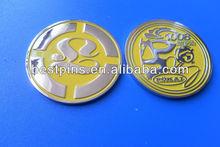 cultivate the spirit yellow color coin for souvenir