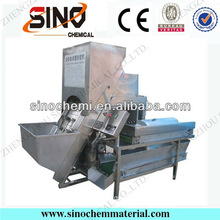 304 Stainless Steel Industrial Onion Peeling Machine With Big Capacity