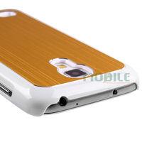Wire Brushed Aluminium Phone Case for Samsung Galaxy S4mini/guangzhou factory