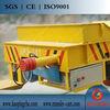 Crane winch trolley kpj-20t railway flat wagon for heavy equipment