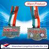 Medal key metal award medals antique silver Cycling sport medal