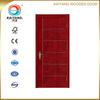 Kaiyang quality interior meranti/oak//teak/mahogany veneer flat painting wooden door