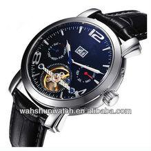 Automatic skeleton movement luxury watches men 2013